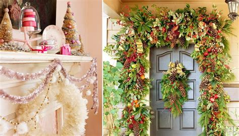 garland ideas a colorful garden of christmas garland ideas stylish eve