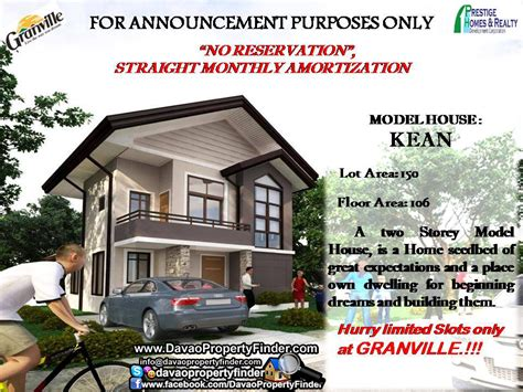low cost housing at granville subdivision catalunan peque 241 o granville subdivision davao property finder