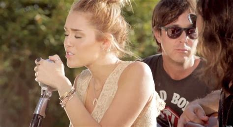 Miley Backyard Sessions by Miley Cyrus Look What They Ve Done To Song Singer