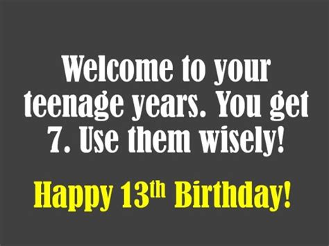 printable birthday cards 13 year old boy 13th birthday wishes what to write in a card holidappy