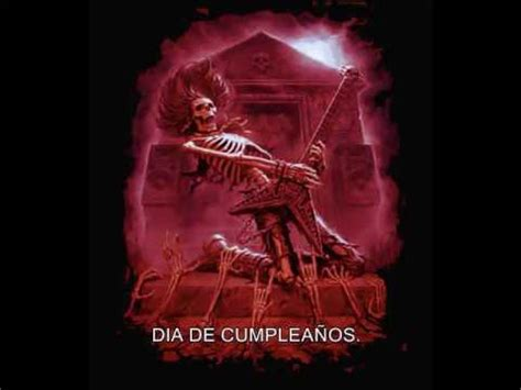 imagenes para una amiga rockera feliz cumple rockero metal youtube