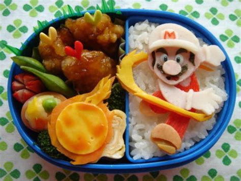 Some Sushi Mario Style With The Mario Bento Boxes by Familius 26 Mind Blowing Bento Boxes