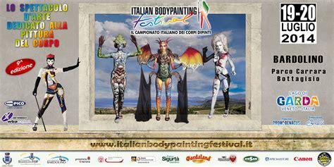 verona italian bodypainting festival bardolino italian painting festival 2014