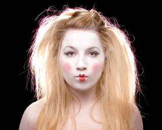 backcombed hairstyles halloween fotos maquillaje halloween maquillaje