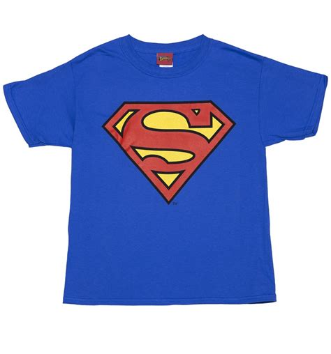 Sale 50 Tshirt Superman By Dc Comics Superheroes Original 2 blue dc comics superman logo t shirt