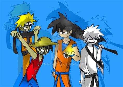 anime populer popular anime characters by fps gamer on deviantart