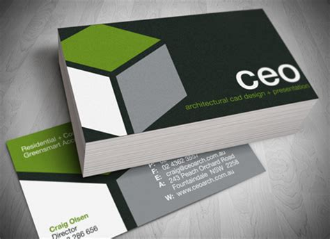 Concrete Business Cards business card design and printing gold coast
