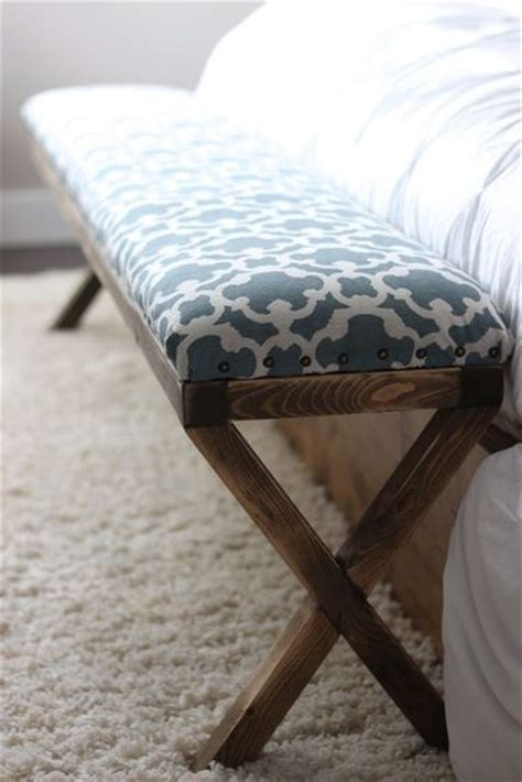 upholstered bench diy super easy diy x upholstered bench the end piano bench