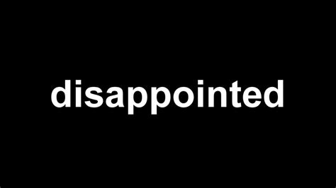 Disappointed Images