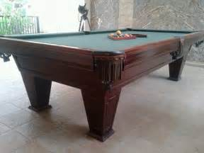 usedrestored 8ft brunswick ventura pool table with