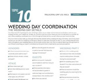 Wedding Planner Description by Checklists More