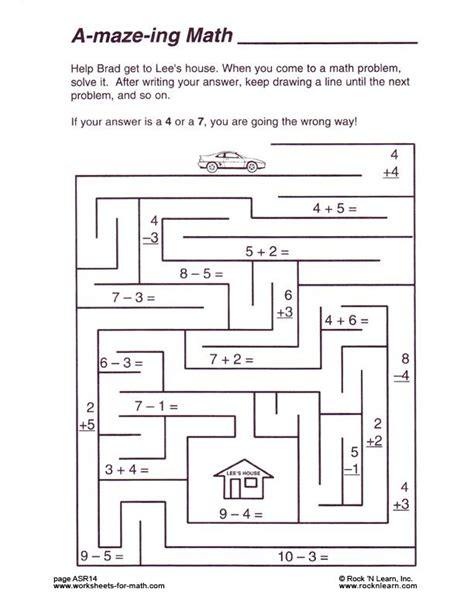 Math Puzzles Worksheets by Free Math Worksheets Puzzles S Math