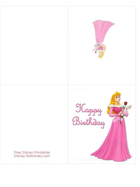 printable birthday cards princess disney birthday card printable www pixshark com images