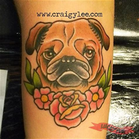 tattoo prices wellington color arm pug tattoos picture gallery sleeve pug tattoo