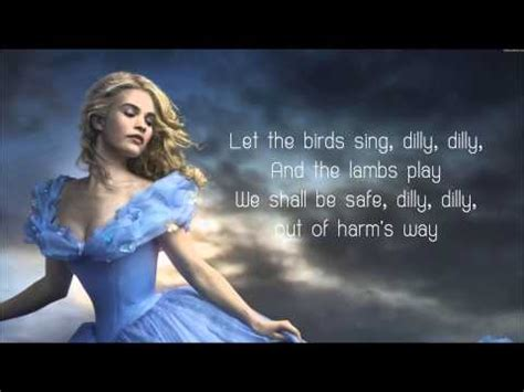 song in 2015 lavender s blue dilly dilly lyrics cinderella 2015