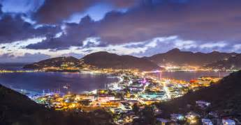 St Maarten Car Rental Cruise Port St Maarten At Night Pixmatch Search With Picture