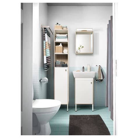 Tyngen High Cabinet White Ash Effect 30x29x177 Cm Ikea Ikea Storage Bathroom