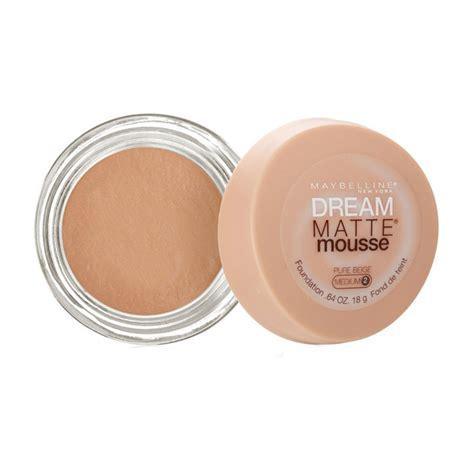 Bedak Maybeline Spf 18 Seri 3 buy maybelline new york matte mousse foundation beige medium 2 18 g