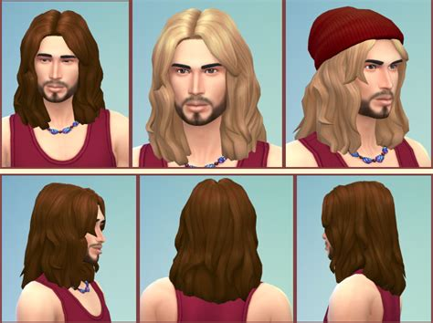 sims 4 longest hair my sims 4 blog birksches russel and very long hair for males