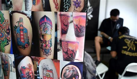 tattoo expo jakarta para pencinta tato berkumpul di bali tattoo expo 2017