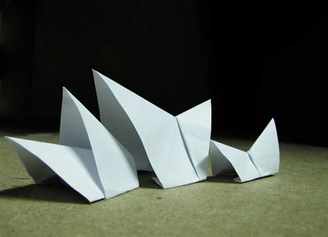 Origami Paper Sydney - origami architecture sydney opera house just a simple