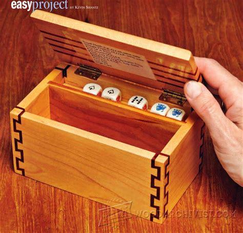 game box plans woodarchivist