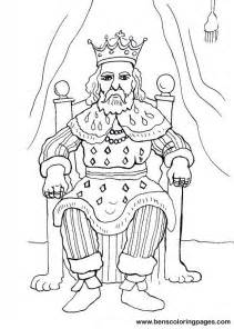 pages king free coloring pages of king and