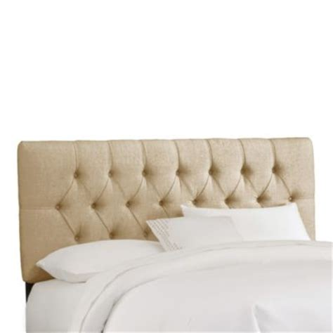 buy upholstered tufted headboard from bed bath beyond