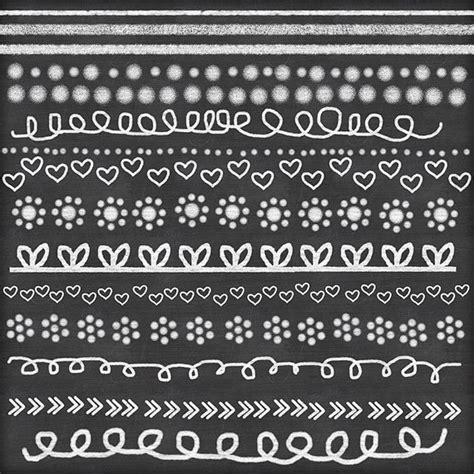 free doodle lines chalk clipart doodle chalk borders lines chalk clip