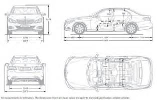 dimensions of an a class mercedes