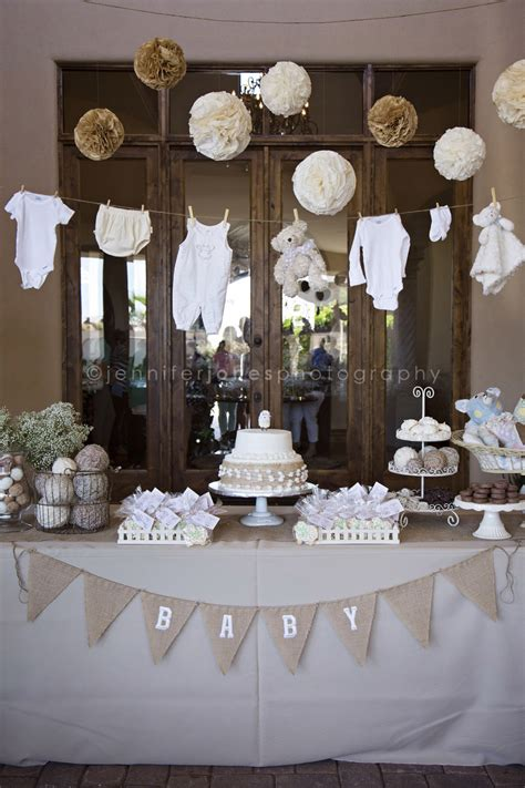 Neutral Baby Shower Themes by Vintage Themed Neutral Baby Shower 187 Jones