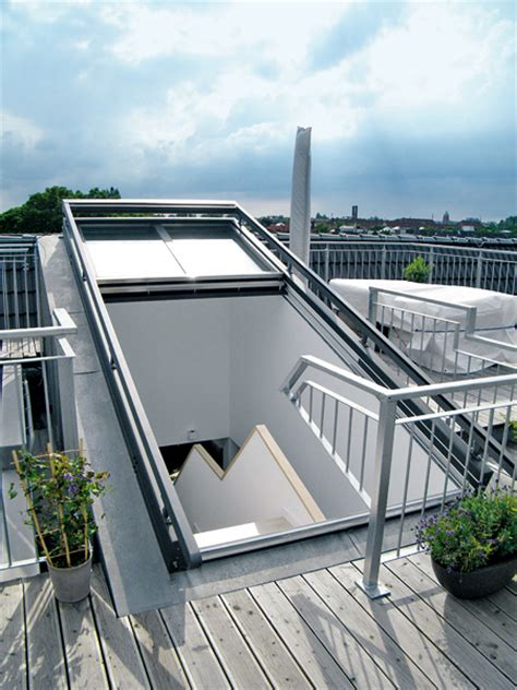Dachterrasse Ausstieg by Mit Viel Glas An Der Dachschr 228 Ge Renovieren De