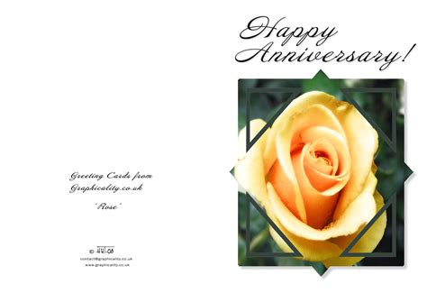 Wedding Anniversary Free Cards by 7 Best Images Of Anniversary Card Free Printable Templates