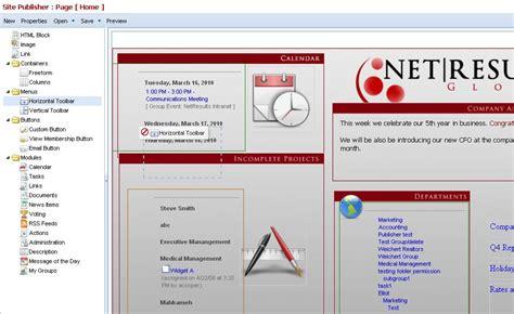 portal site builder instantly create employee portals