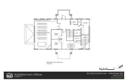 farm office floor plans town office relocation town of waitsfield vermont