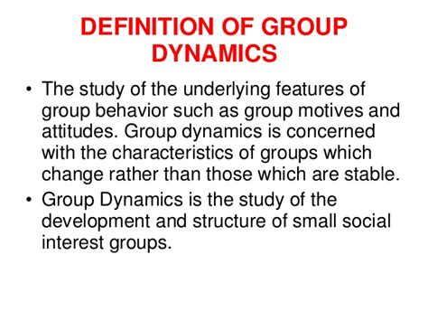 human relations and dynamics copy