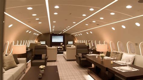 vip bbj  business jet interiors