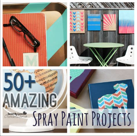 diy spray paint projects 50 amazing diy spray paint projects