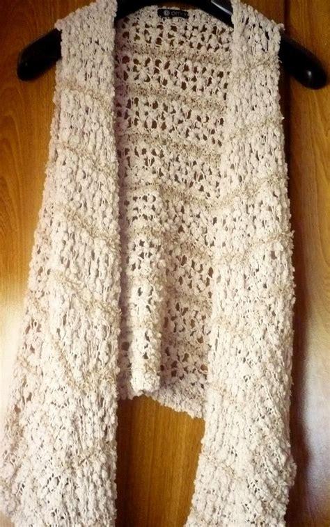 fotos de chalecos tejidos chalecos tejido en crochet imagui