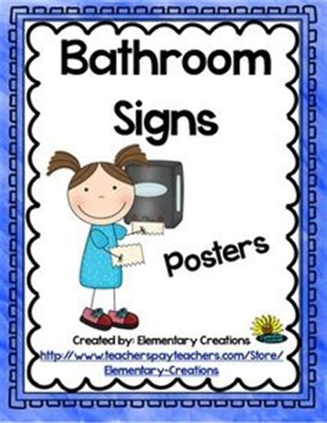 bathroom signs for classroom 1000 images about kindergarten new classroom on
