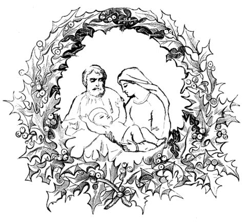 nativity coloring pages coloring ville