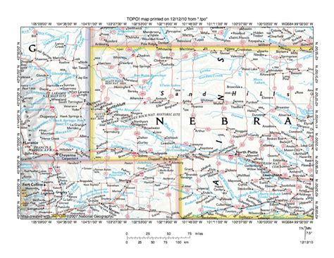 washington dc map nw ne sw se platte river drainage basin landform origins colorado
