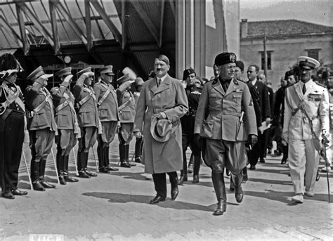 goering s war three southern and italy books a happy mussolini during s visit in florence