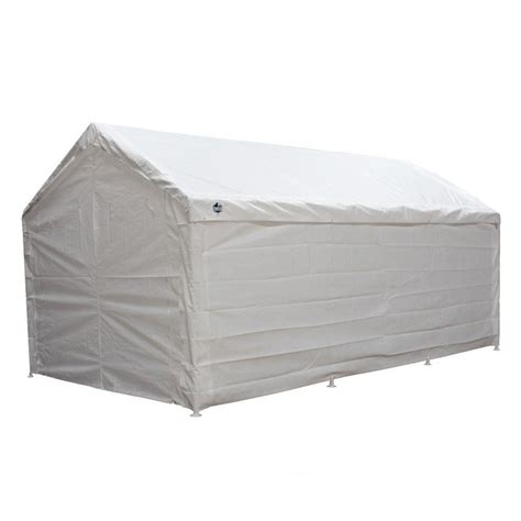 Enclosed Canopy King Canopy Hercules 10 Ft W X 20 Ft D Enclosed Canopy