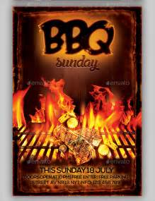 bbq flyer template bbq flyer 20 in vector eps psd