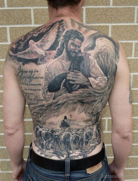 jesus tattoo on back jesus tattoos tattoo designs tattoo pictures page 8