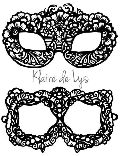 printable lace mask template the gallery for gt printable lace masquerade mask template
