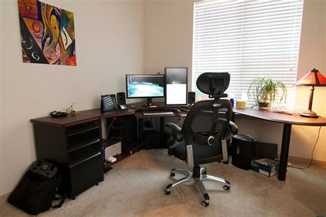 how to setup a home office in a small space inspirational workspace 60 awesome setups hongkiat