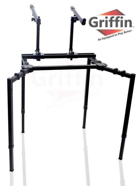 computer keyboard stand for double keyboard stand studio stage mixer turntable dj