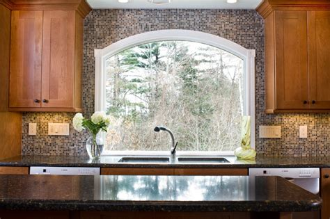 kitchen window design marvin arched custom window eclectic kitchen boston